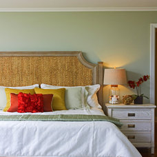 Tropical Bedroom by A. Rejeanne Interiors