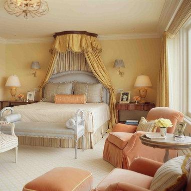 Http Www Houzz Com Photos Bedroom Peach Ls 4