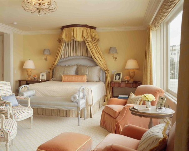 Traditional Bedroom by Kendall Wilkinson Design