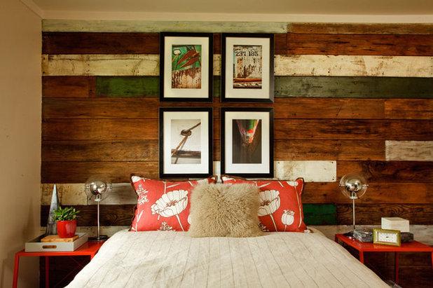 Beach Style Bedroom by Garrison Hullinger Interior Design Inc.