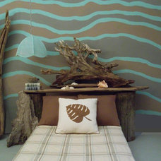 Tropical Bedroom by Sarah Ames