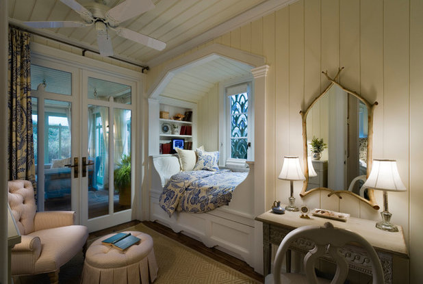 Beach Style Bedroom by Gary Brewer Robert A.M. Stern Architects