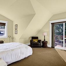 Craftsman Bedroom by Seattle Staged to Sell and Design LLC