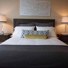 Contemporary Bedroom by Tammara Stroud Design