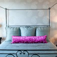 Eclectic Bedroom by Tammara Stroud Design
