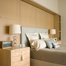 Transitional Bedroom by Laura Bohn Design Associates