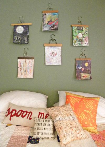Eklektisk Sovrum by Sarah Greenman