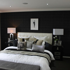 contemporary bedroom by Orbit Homes