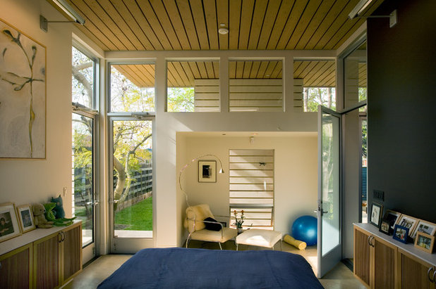 Contemporary Bedroom by Paul Welschmeyer ARCHITECTS & energy consultants