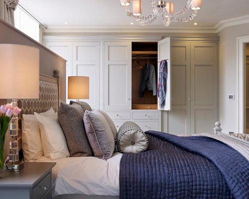designer bedroom wardrobes. Inspiration for a transitional master bedroom remodel in Gloucestershire Designer Bedroom Wardrobes  Houzz