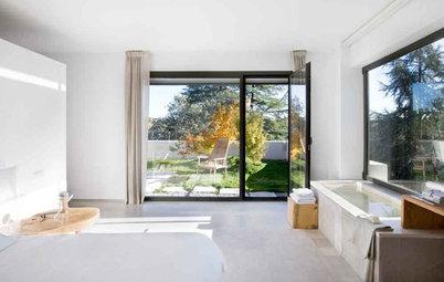 Convierte el dormitorio en un espacio singular integrando el baño