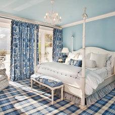 Tropical Bedroom by Colony Rug Company, Inc.