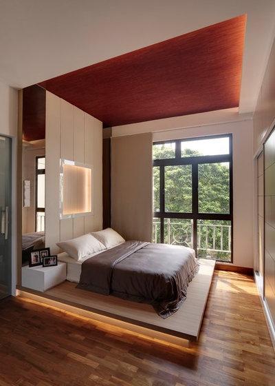 Contemporary Bedroom by IDees Interior Design