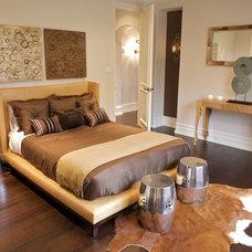 Contemporary Bedroom by Semerjian Interiors