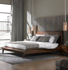 contemporary bedroom by Furnitureland South