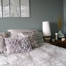 Contemporary Bedroom by Designing Home