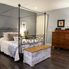 Contemporary Bedroom by Theresa Seabaugh Interior Design