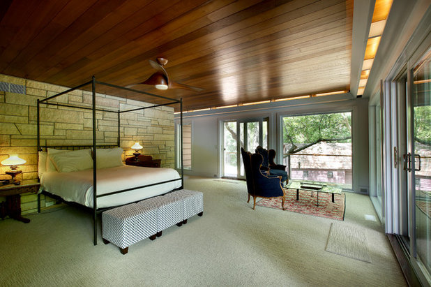 Rustic Bedroom by Scott Christopher Homes
