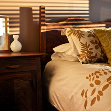 Traditional Bedroom by nicole helene designs