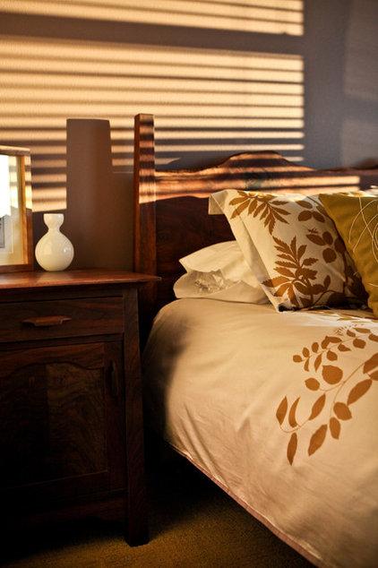 Traditional Bedroom by nicole helene designs