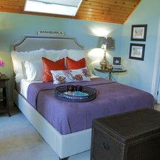 Eclectic Bedroom by Karen Garlanger Designs, LLC