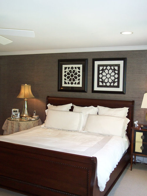 inspiration for a bedroom remodel in richmond with gray walls
