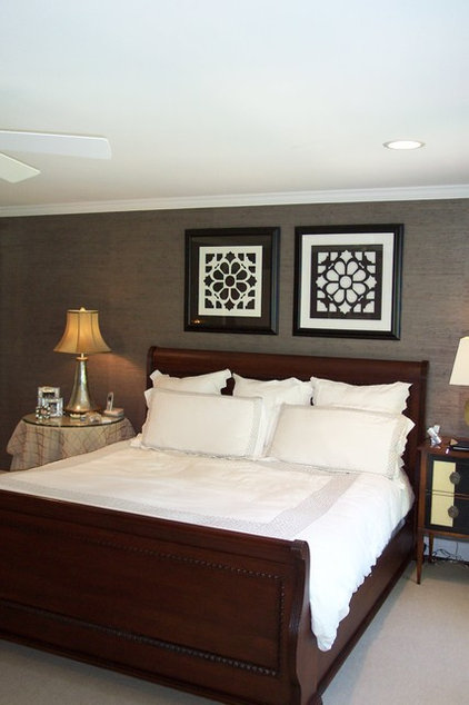 Transitional Bedroom by Ben Dial