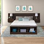 Teak Bedroom Modern Bedroom Oklahoma City By Dane