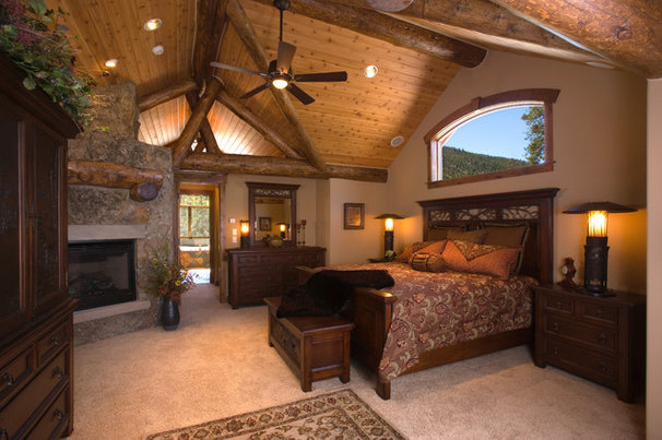 Rustic Bedroom by bhh Partners Planners / Architects