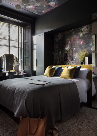 Contemporary Bedroom by Cathy Dean Interior Design