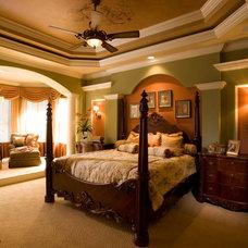 Mediterranean Bedroom by Peregrine Homes
