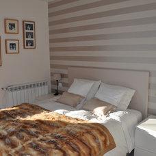 Contemporary Bedroom by Constanza Subijana