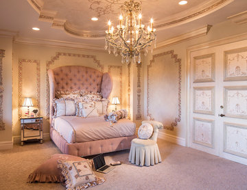 Shabby-chic Style Bedroom
