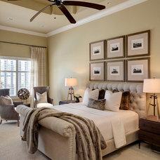 Transitional Bedroom by LAURA MILLER, ASID, NCIDQ: INTERIOR DESIGN