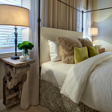 Transitional Bedroom by LAURA MILLER, ASID, NCIDQ: INTERIOR DESIGN
