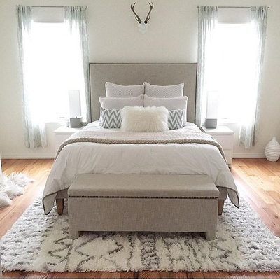 Contemporary Bedroom by nuLOOM