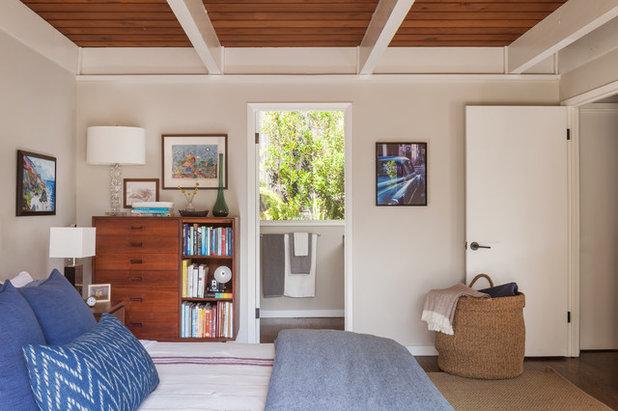Midcentury Bedroom by BK Interior Design