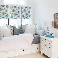 Transitional Bedroom by Steffanie Gareau Interior Design