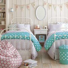 Contemporary Bedroom by Garnet Hill