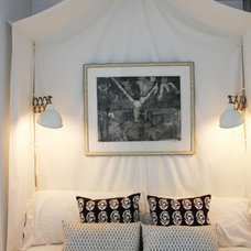 Beach Style Bedroom by SchappacherWhite Architecture D.P.C.