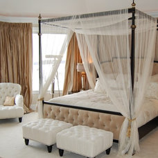Traditional Bedroom by J. Scott Interiors and The Well Dressed Window