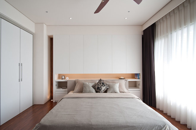 Contemporary Bedroom by PMK+designers