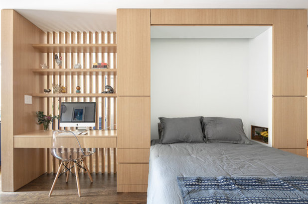 Contemporary Bedroom by Sonya Lee Architect llc