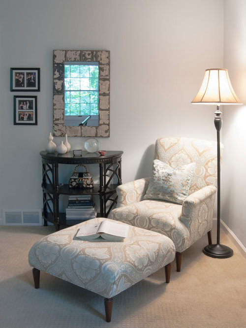 Master Bedroom Reading Chair | Houzz