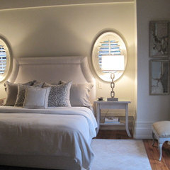 eclectic bedroom by sherry hart