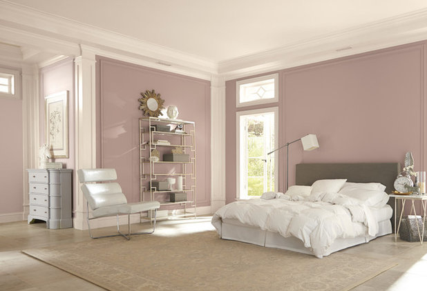 Contemporary Bedroom by Sherwin-Williams