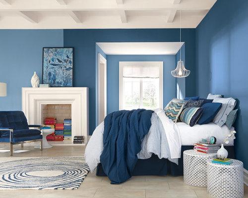 denim bedroom design ideas remodels photos houzz