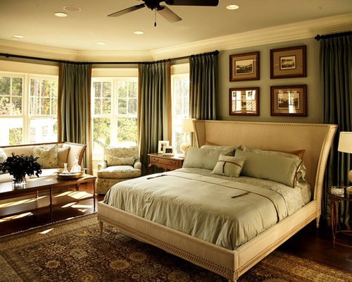 Olive green curtains home design ideas pictures remodel - Curtains for olive green walls ...