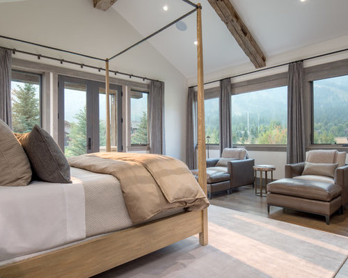 Inspiration For A Rustic Bedroom Remodel In Other