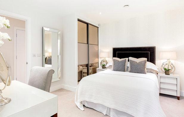 Coastal Bedroom by WN Interiors.